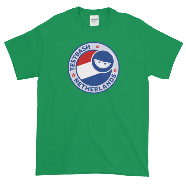 T-Shirt - TestBash - Netherlands - Men's