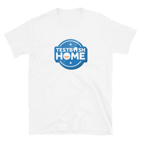 T-Shirt - TestBash Home - Unisex - White