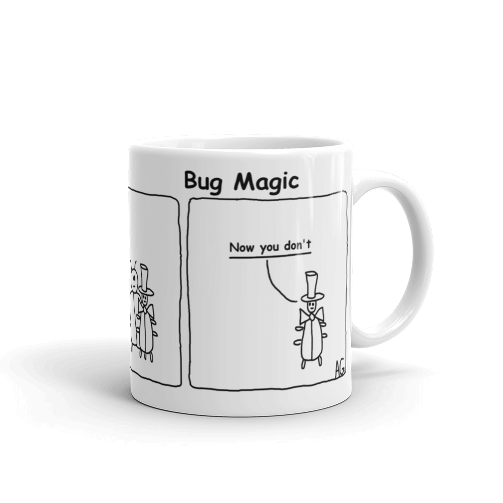 Bug Magic Mug by Andy Glover