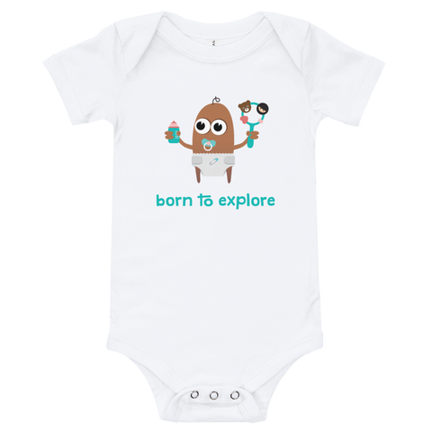 Babygrow - Born to Explore - Rattle