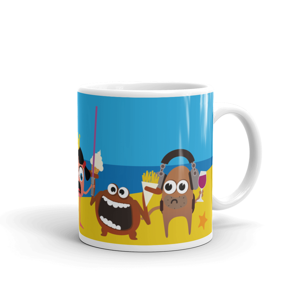 Ministry of Testing Seaside Mug