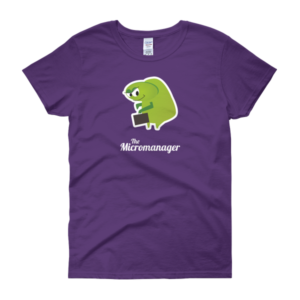 T-Shirt - Testers Types - Micromanager - Women's