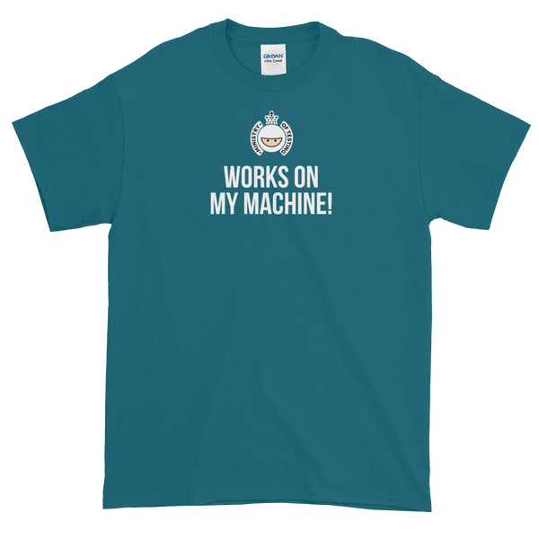 T-Shirt - Quotes - Works on My Machine + Logo - Men's
