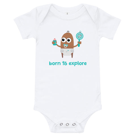 Babygrow - Born to Explore - Compass