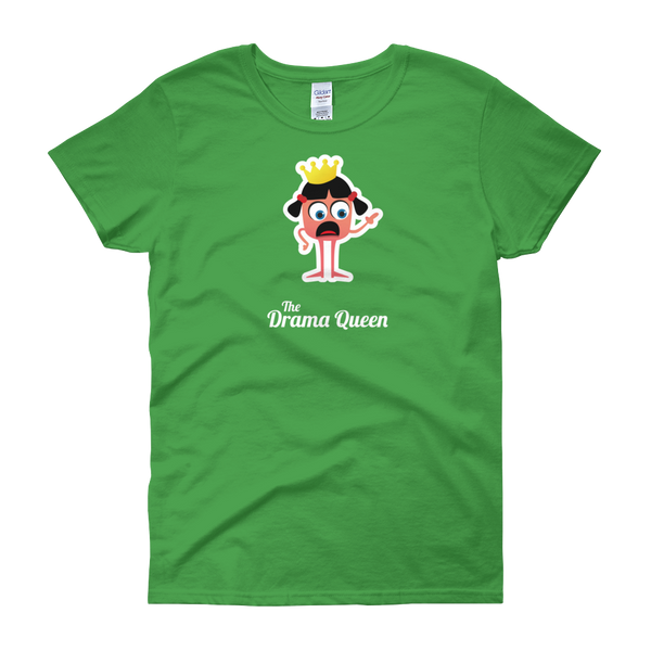 T-Shirt - Testers Types - Drama Queen - Women's