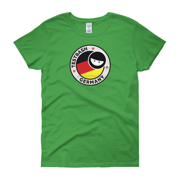 T-Shirt - TestBash - Germany - Women's