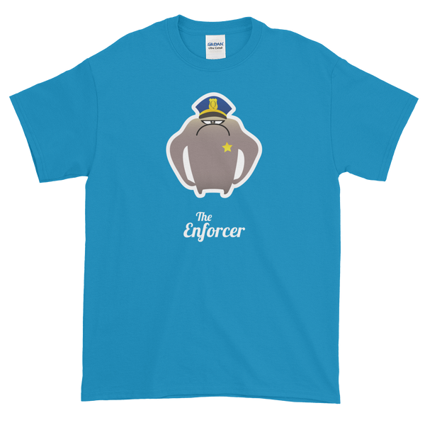 T-Shirt - Testers Types - Enforcer - Men's