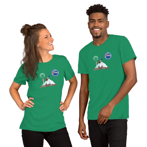T-Shirt - TestBash New Zealand 'Mountain' - Unisex - Various Colours