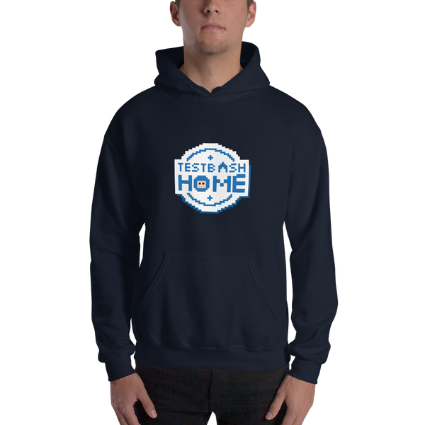 Unisex Hoodie - Pixel TestBash Home - Various Colours