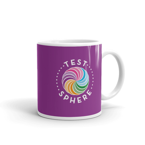 TestSphere Mug - Purple