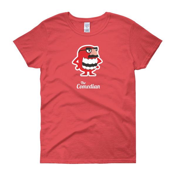 T-Shirt - Testers Types - Comedian - Women's