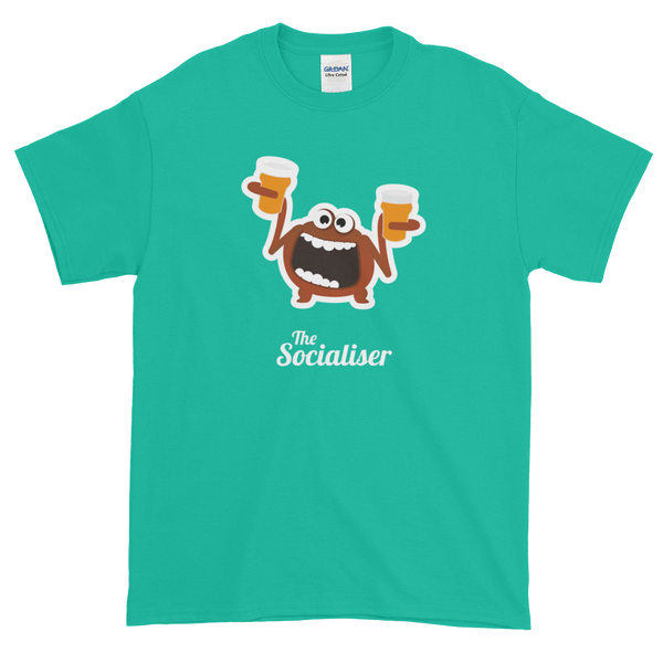T-Shirt - Testers Types - Socialiser - Men's