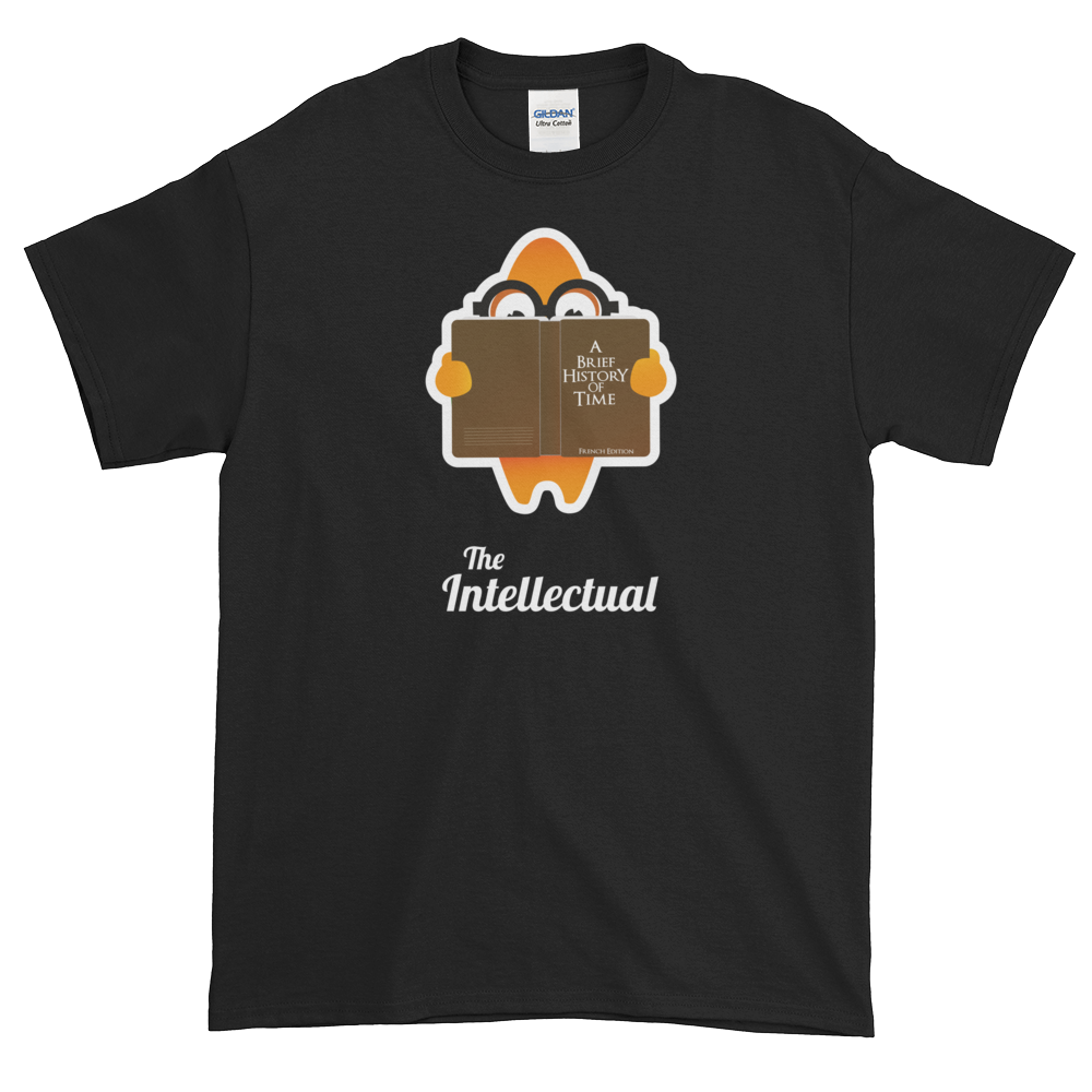 T-Shirt - Testers Types - Intellectual - Men's