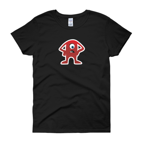 T-Shirt - Testers Types - Red Dude - Women's