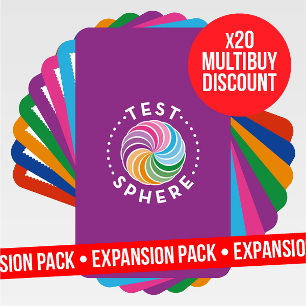 TestSphere - Expansion Pack x20 Multibuy PRE-ORDER