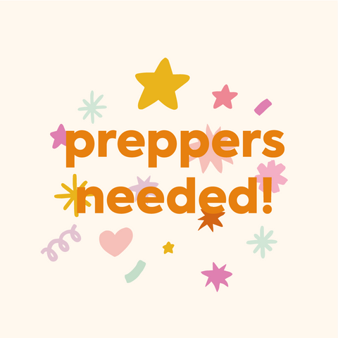 Preppers needed