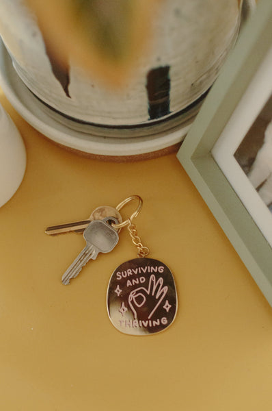 Surviving And Thriving Keyring