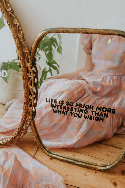 Life Is More Interesting Mirror Decal Decals sighh