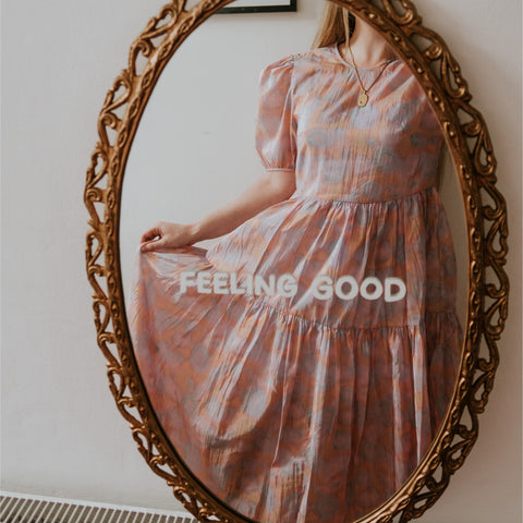 Feeling Good Mirror Decal Decals sighh