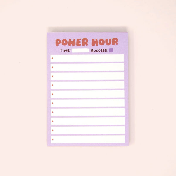 Power Hour Mini Desk Pad