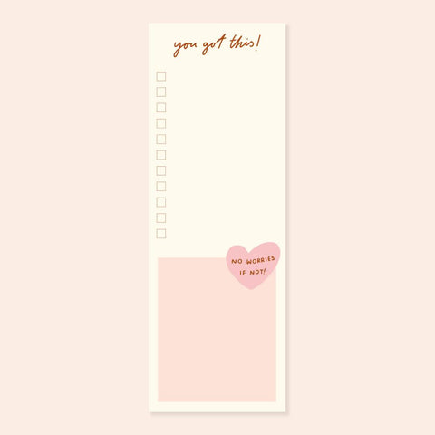 You Got This Long Checklist Desk Pad