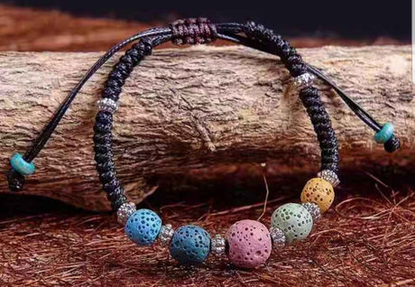 ***IN STOCK*** High end lava stone bracelets