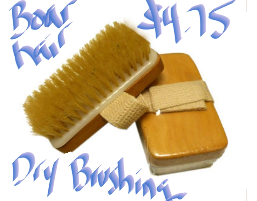 ***IN STOCK***boar hair dry brushing brush