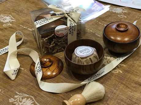 ***IN STOCK SALE*** Wood shave bowl and cover