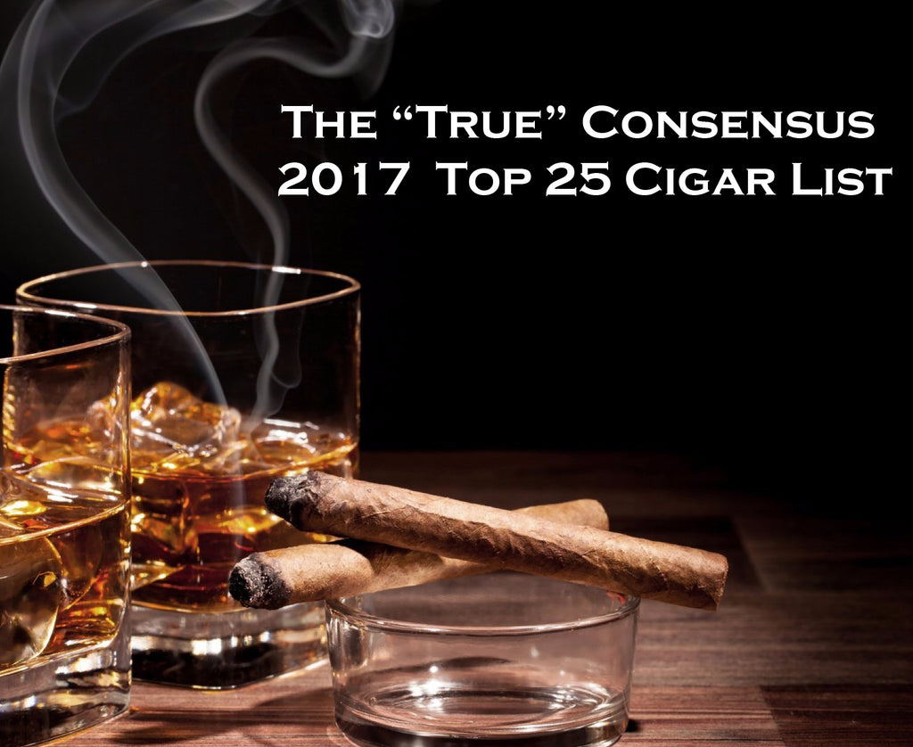 Top Cigars of 2017: A True Consensus List