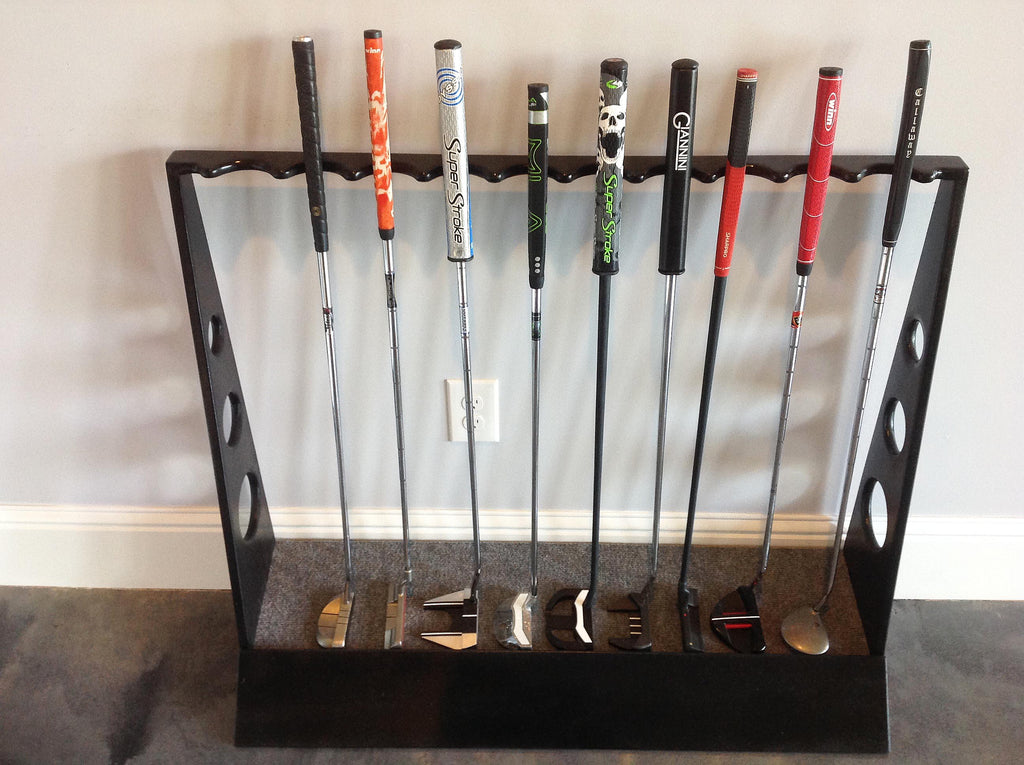 Building A Custom Floor Standing Putter Rack