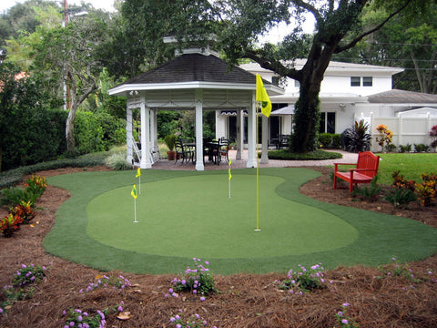 20' x 32' DIY Backyard Putting Green