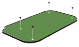 Tour Links Money Maker 8'x14' Golf Putting Green