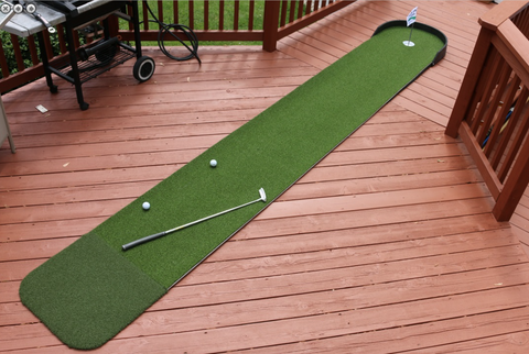 NEW Big Moss Commander 2' x 15' Outdoor Putting Green
