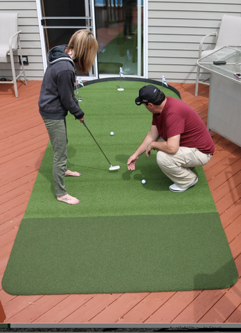 NEW Big Moss 6' x 15' Commander Outdoor Putting Green