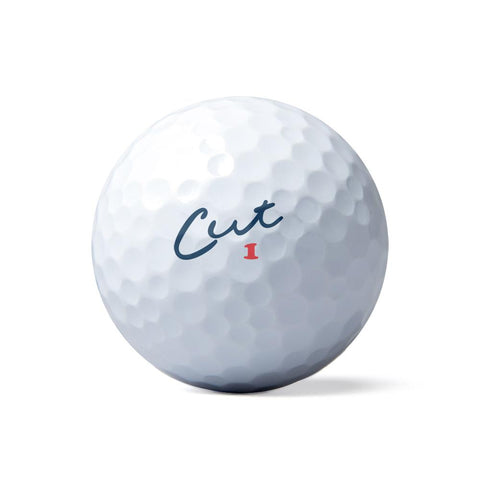 CUT Blue Golf Ball Dozen