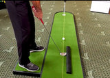 TourLinks 9' Putt Master Golf Training Aid Green