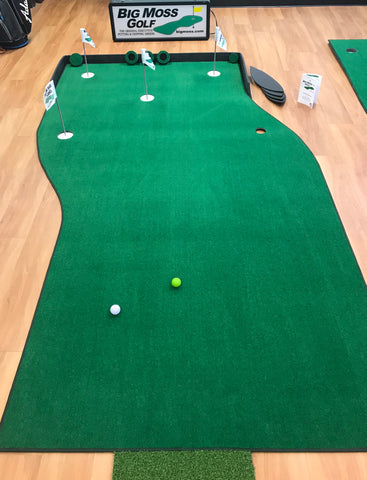 Big Moss Golf Natural Indoor Putting Green