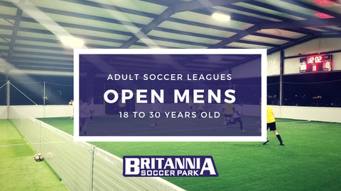 Open Mens Adult Soccer League