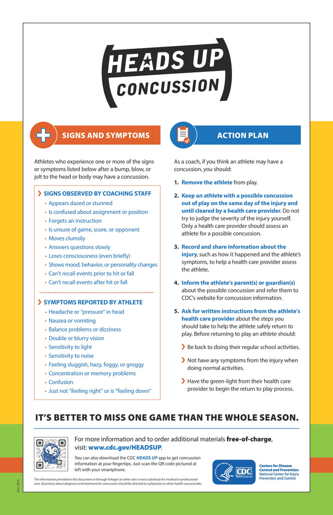 Head Up Youth Sports Concussion