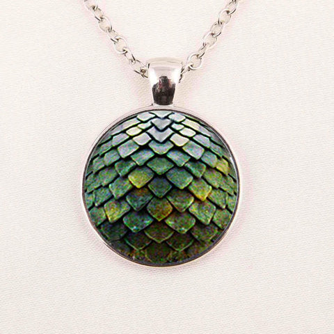 Dragon Egg Pendant Necklace