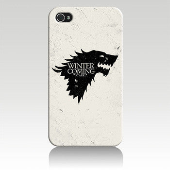 House Stark Case for Iphone 4/4s/5/5s/5c/6/6s/6 plus/6s plus