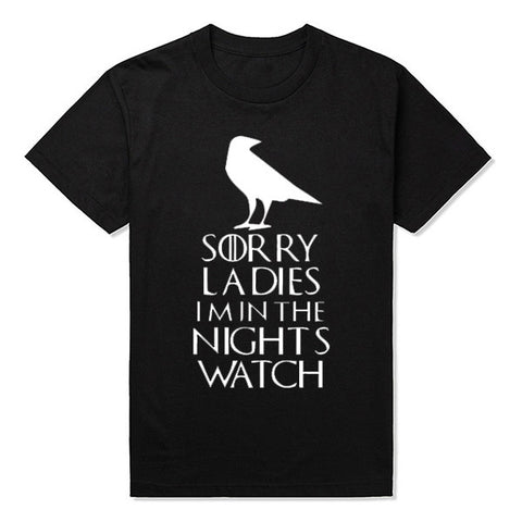 I'm in the Night Watch T-shirt
