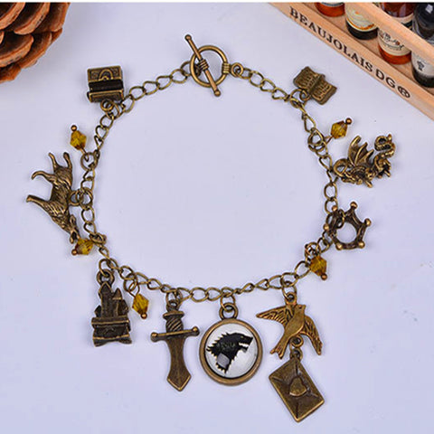 Game of Thrones Antique Bronze Bracelet