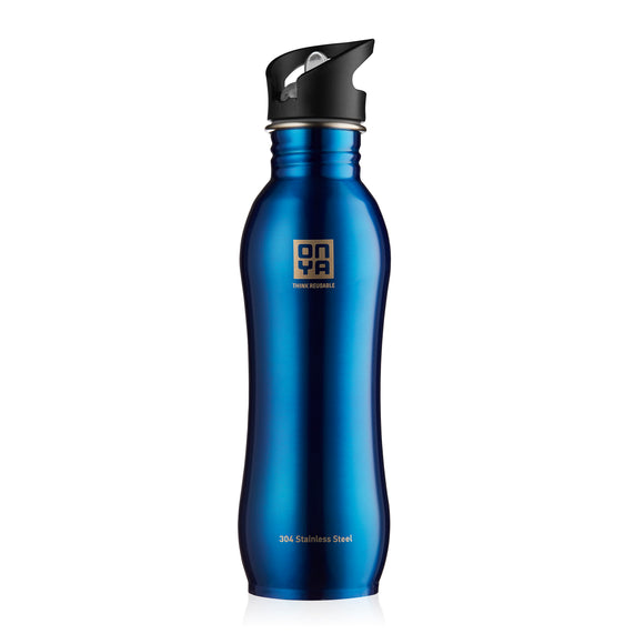 Reusable Drink Bottles Stainless Steel• قنينة الشرب