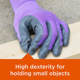 Purple Nitrile Gloves • قفاز بنفسجي