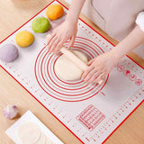 Pastry Mat With Measurements • مفرش لفرد العجين مع قياسات - plantnmore