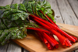 Swiss Chard Ruby Red• سلق احمر فاقع