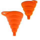 Foldable Funnel 2pc Set •  قمع مرن حجمين - plantnmore