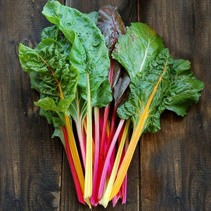 Rainbow Swiss Chard •  سلق ملون
