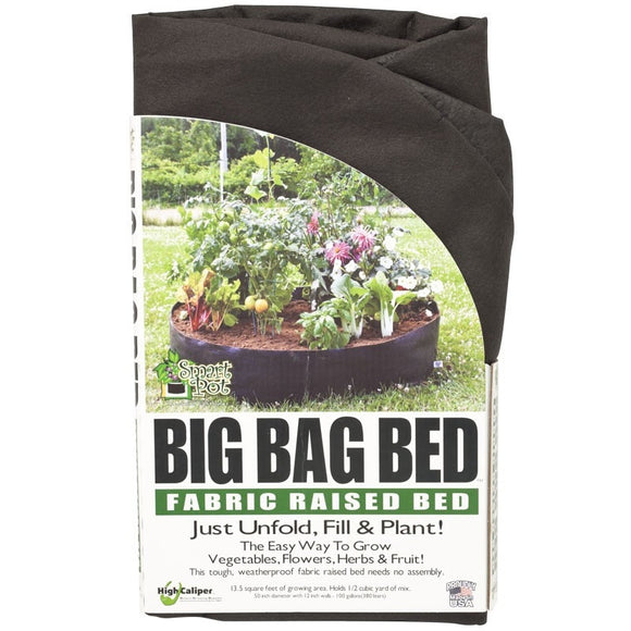 Fabric Raised Bed 100 gallon ● حوض ريزد بد ١٠٠ غالون - plantnmore
